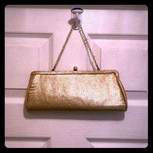 Handbags - 🌟Little Shimmering Gold Vintage style Clutch  ✨
